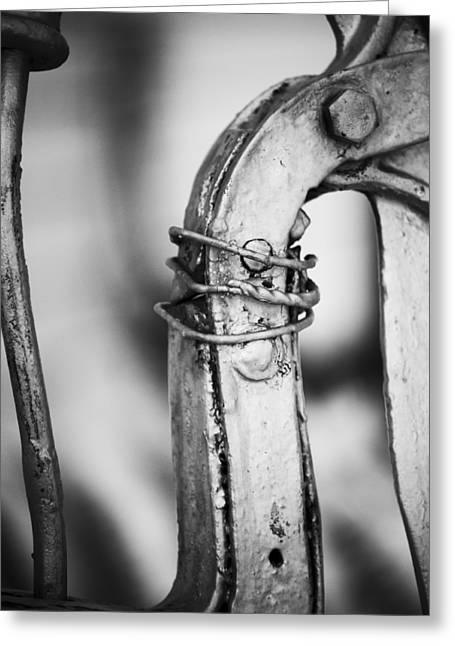 Mechanism Photographs Greeting Cards - Thirsty Greeting Card by Christi Kraft