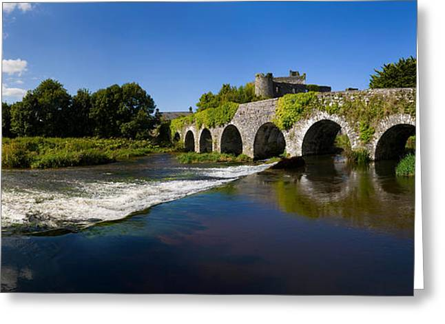 County Cork Greeting Cards - Thirteen Arch Bridge Over The River Greeting Card by Panoramic Images