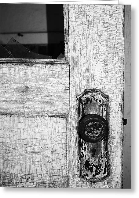 Old Door Greeting Cards - Thirteen Times Greeting Card by Jerry Cordeiro
