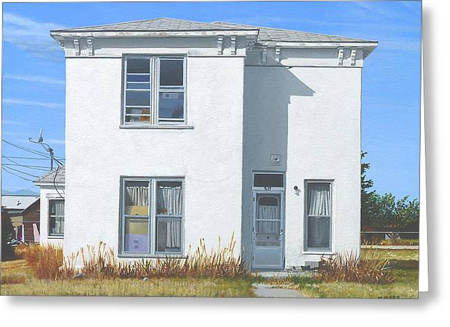 Photorealism Greeting Cards - This House of Sky Greeting Card by Michael Ward