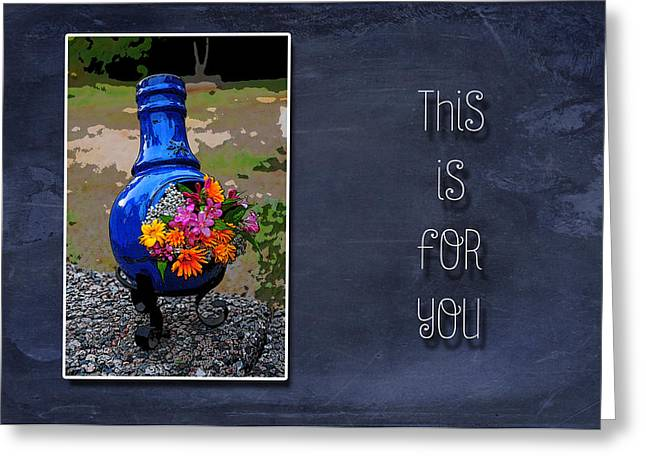 Photographic Art For Sale Greeting Cards - This is For You Greeting Card by Randi Grace Nilsberg