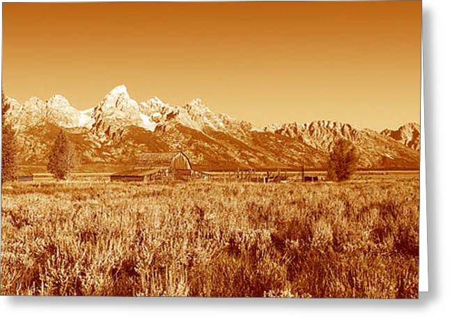 Park Scene Greeting Cards - This Is Grand Teton National Park Greeting Card by Panoramic Images