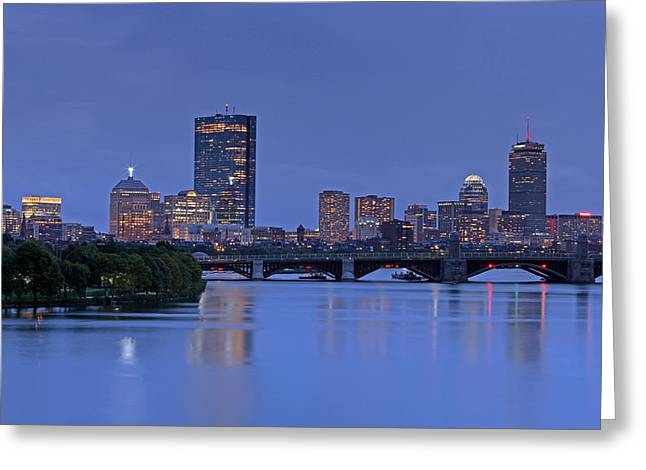 Boston Pictures Greeting Cards - This Is Our City Greeting Card by Juergen Roth