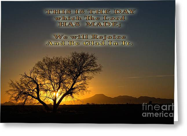 Sunset Framed Prints Greeting Cards - This is The Day Greeting Card by Beverly Guilliams