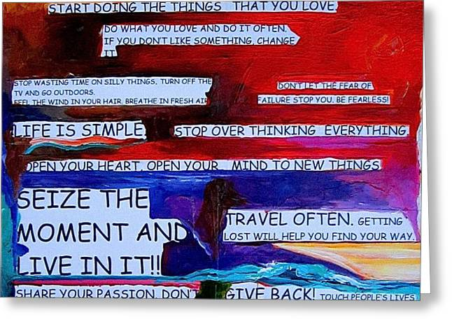 This is Your Life Greeting Card by Patti Schermerhorn
