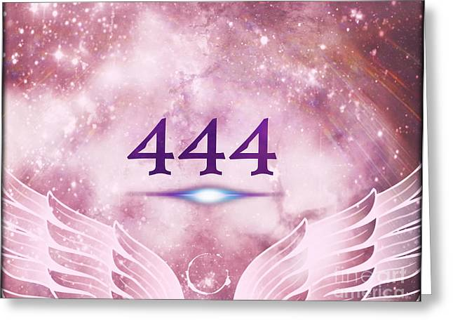 Angels Numbers Greeting Cards - This Is Your Wake Up Call Greeting Card by Ashe Aria Leighland
