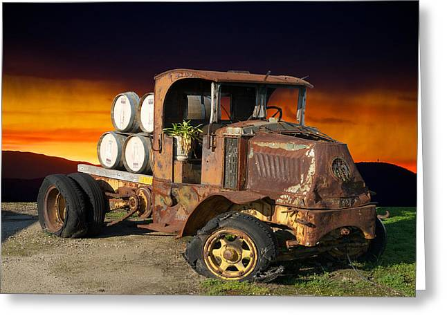 Family Car Greeting Cards - This Mack is Back I Greeting Card by Dave Koontz