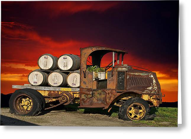 Family Car Greeting Cards - This Mack is Back II Greeting Card by Dave Koontz