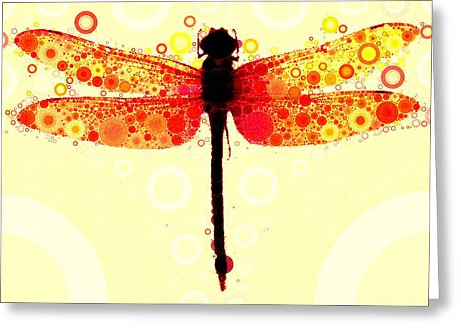 Dragonflies Greeting Cards - This May Be Rash Greeting Card by Steven Boland