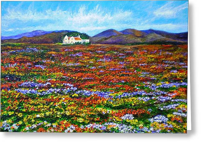 Cape Town Paintings Greeting Cards - This Must Be Heaven Greeting Card by Michael Durst