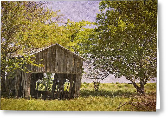 This Old Barn Greeting Card by Joan Carroll