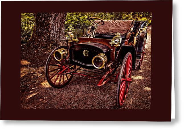 Photos Greeting Cards - This Old Car Greeting Card by Thom Zehrfeld