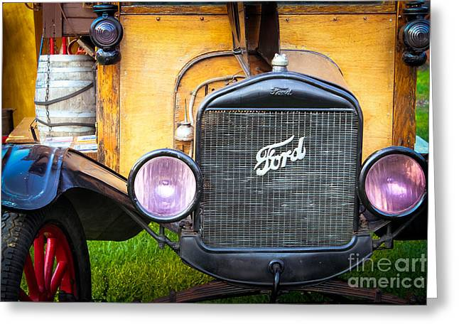 Ford Model T Car Greeting Cards - This Old Ford Greeting Card by Colleen Kammerer