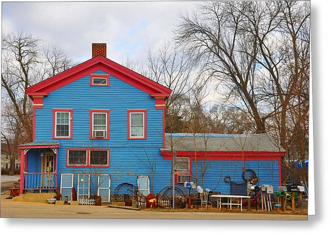 Nostalga Greeting Cards - This Old House Greeting Card by Daniel Ness