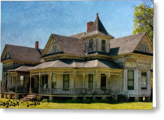 Joan Bertucci Greeting Cards - This Old House Greeting Card by Joan Bertucci