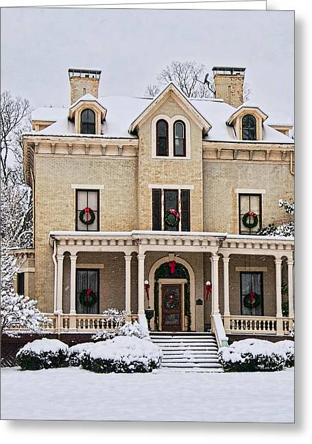 Residential Structure Greeting Cards - This old house Greeting Card by Phyllis Taylor