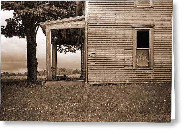 Buy Photos Online Greeting Cards - This Old House Greeting Card by Steven  Michael