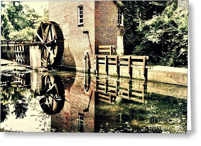 Deep River County Park Greeting Cards - This Old Mill Greeting Card by Lynne Dohner