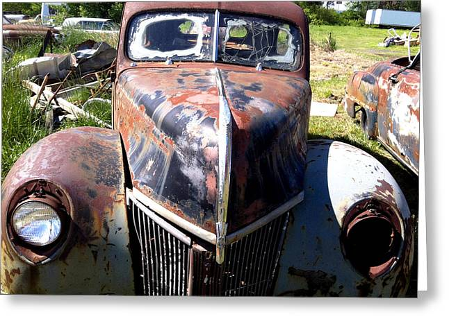 This Old Truck Greeting Card by Gary Perron