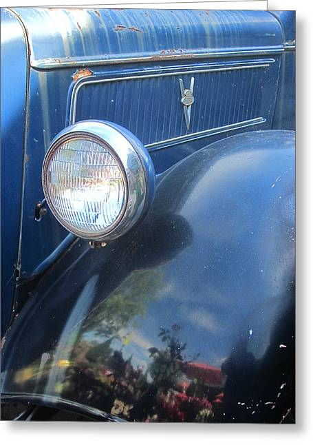 Guy Ricketts Photography And Art Greeting Cards - This Old truck Greeting Card by Guy Ricketts