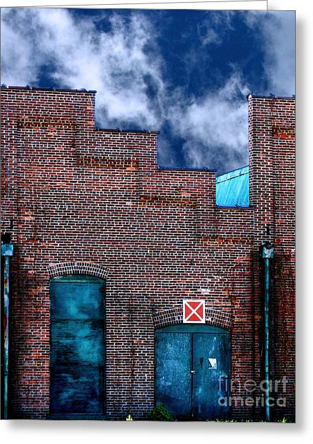Michelin Greeting Cards - This Property is Condemned Greeting Card by Colleen Kammerer