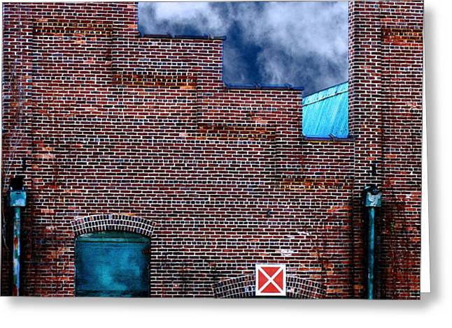 This Property is Condemned Greeting Card by Colleen Kammerer
