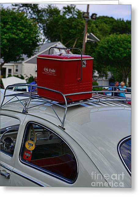 Rack Greeting Cards - This VW is Road Ready Greeting Card by Paul Ward