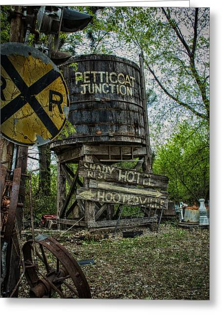 Best Sellers -  - Historic Country Store Greeting Cards - This way to Hooterville Greeting Card by Todd and candice Dailey