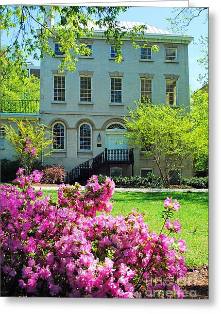 Congressman Greeting Cards - Thomas Law House Greeting Card by Jost Houk