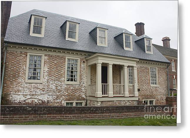 Thomas Sessions House Yorktown Greeting Card by Teresa Mucha