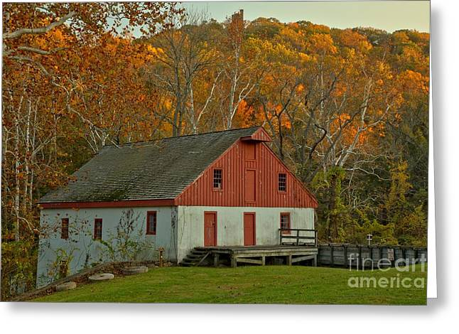 Neely Greeting Cards - Thompson Neely Grist Mill - Bucks County PA Greeting Card by Adam Jewell