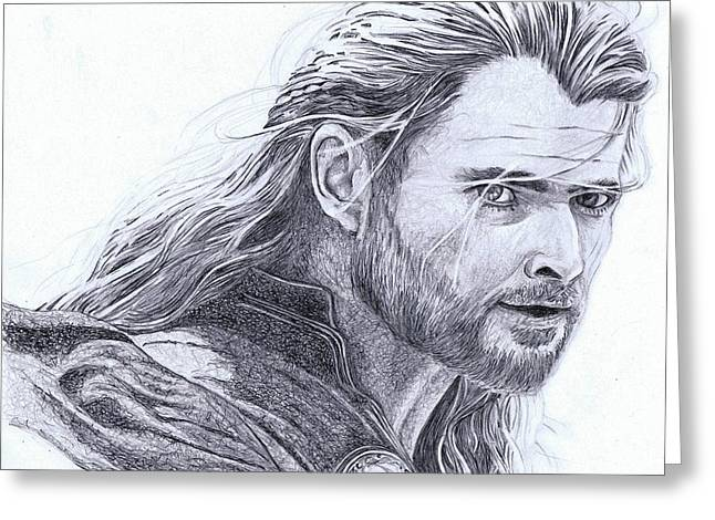 Thor Greeting Cards - Thor Greeting Card by Paul Smutylo