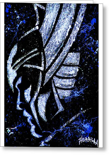 Thor Paintings Greeting Cards - Thor Greeting Card by Tony Herrera