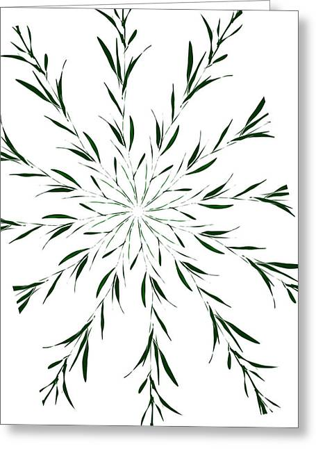 Tablets Drawings Greeting Cards - Thorns And Thyme Greeting Card by Ellsbeth Page