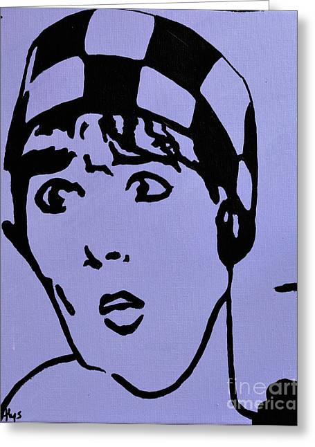 Musical Film Paintings Greeting Cards - Thoroughly Modern Millie Greeting Card by Alys Caviness-Gober