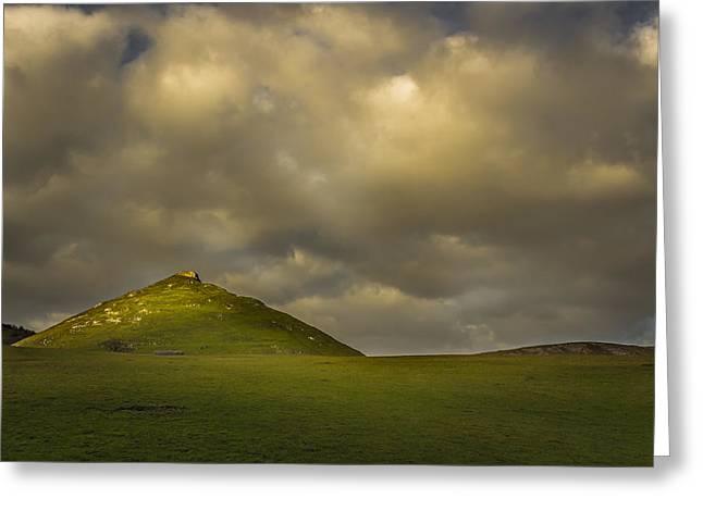 Peak District Greeting Cards - Thorpe Cloud peak Greeting Card by Chris Fletcher