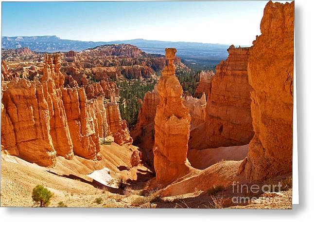 Thor's Hammer At Bryce Canyon Greeting Card by Alex Cassels