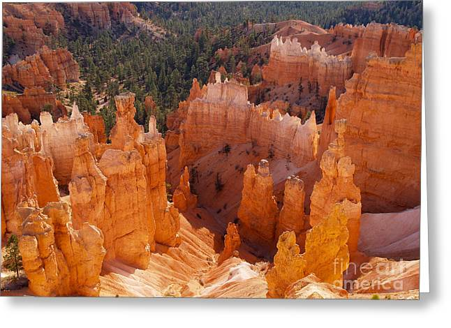 Rock Hammer Greeting Cards - Thors Hammer at Bryce Canyon in Utah Greeting Card by Alex Cassels