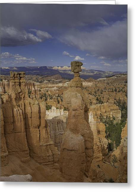 Rock Hammer Greeting Cards - Thors Hammer Vertical Bryce Canyon Greeting Card by Jonathan Davison
