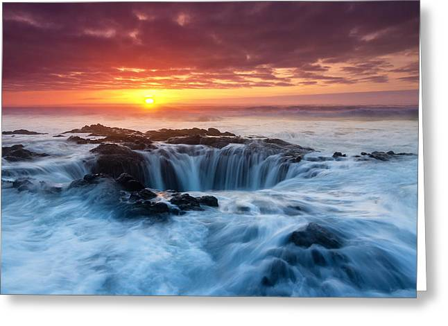 Thor Greeting Cards - Thors Majesty Greeting Card by Majeed Badizadegan