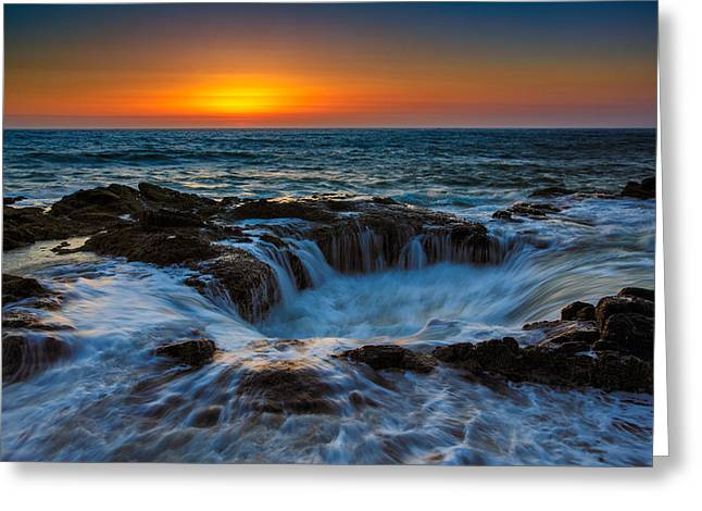 Thor Photographs Greeting Cards - Thors Well Greeting Card by Rick Berk