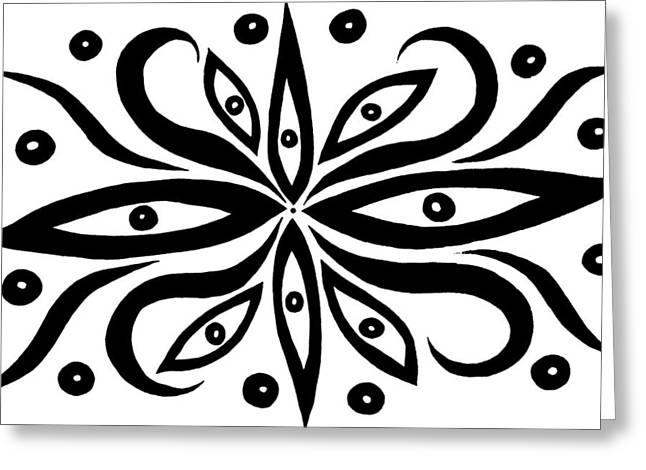 Those Eyes Greeting Cards - Those Eyes Greeting Card by Beth Akerman