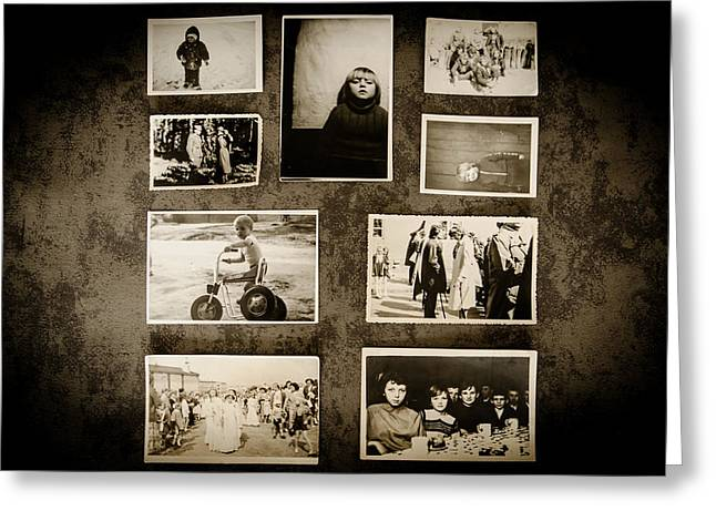 Poster Board Greeting Cards - Those Old Memories Greeting Card by Mountain Dreams