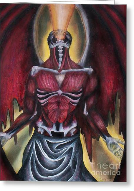 Fears Psychic Greeting Cards - Thoth II  Greeting Card by Coriander  Shea