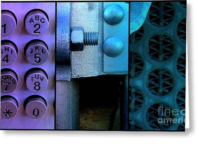 Grate Greeting Cards - Thou Shalt Not Steel 2 Greeting Card by Marlene Burns