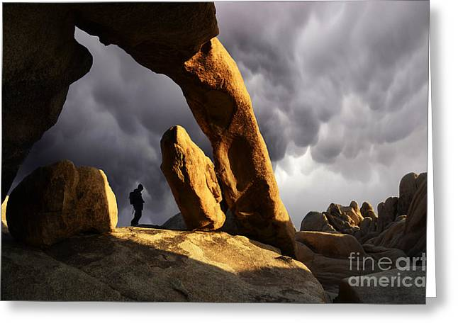 Canadian Photographer Greeting Cards - Threatening Skies Greeting Card by Bob Christopher