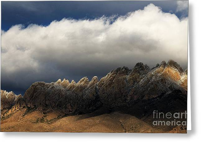 Las Cruces Photograph Greeting Cards - Threatening Skies Greeting Card by Vivian Christopher