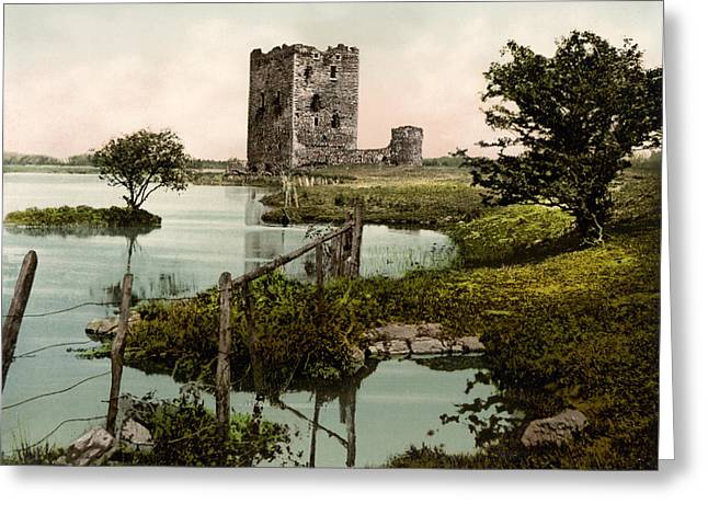 River Dee Greeting Cards - Threave Castle Greeting Card by Digital Reproductions