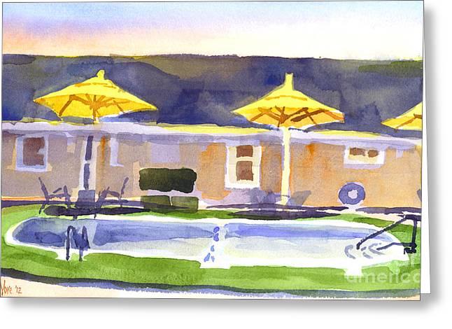 Three Amigos IIIb Greeting Card by Kip DeVore