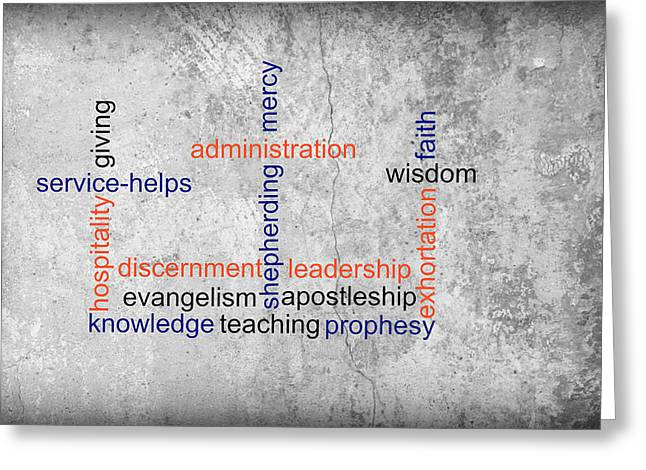 Discernment Greeting Cards - Three Cross Gifts Greeting Card by Living Waters Photography